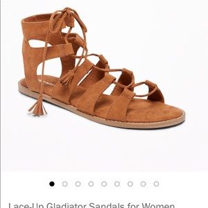 Old Navy Gladiator Lace-Up Sandals
